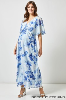 Dorothy Perkins Maternity Layered Floral Dress