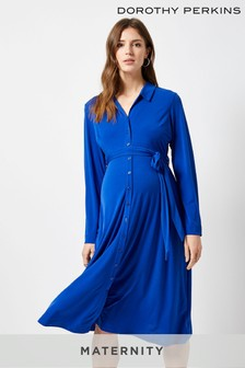 Dorothy Perkins Maternity Midi Shirt Dress