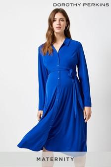 Dorothy Perkins Maternity Midi-Hemdblusenkleid