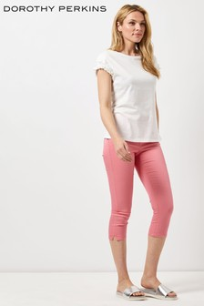 Dorothy Perkins 'Eden' Super Soft Cropped Jeggings'