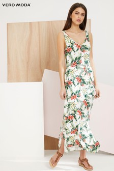 Vero Moda Printed Maxi Dress