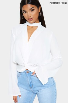 PrettyLittleThing Choker Top
