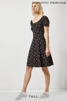 Dorothy Perkins Tall Ditsy Gypsy Dress