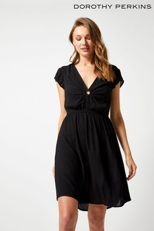 Dorothy Perkins Crinkle O Ring Dress