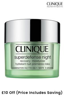 Clinique Superdefence Night Moisturizer - Combination Oily