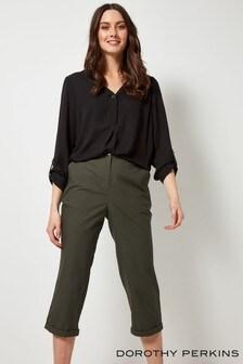 Dorothy Perkins Poplin Crop Trouser