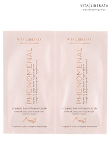 Vita Liberata Phenomenal Organic Tan Infused Cloths 8 Pack
