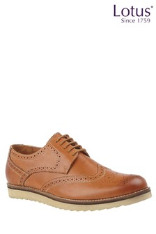 Lotus Leather Casual Brogue