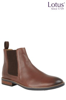 Lotus Leather Chelsea Boot