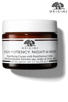 Origins High Potency Night A Mins Resurface Cream 50ml