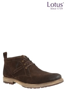 Lotus Leather Casual Demi Boot