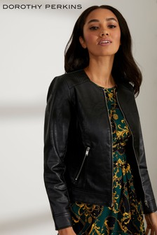 Dorothy Perkins Petite Collarless Jacket