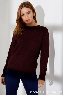 Dorothy Perkins Petite High Neck Jumper