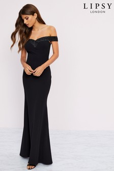 Lipsy Mariana Embellished Maxi Dress