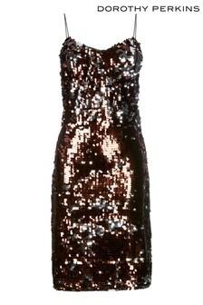 Dorothy Perkins Sequin Slip Dress