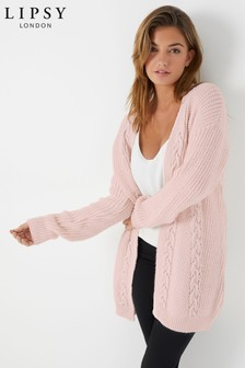 Lipsy Petite Cable Cardigan