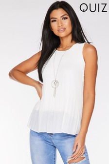 2a973f0efdd Quiz Sleeveless Top
