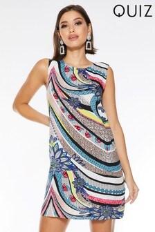 Quiz Abstract Print Tunic Dress