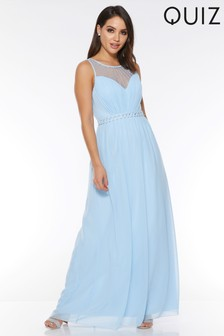 a2d0381fab4 Quiz Chiffon Maxi Dress