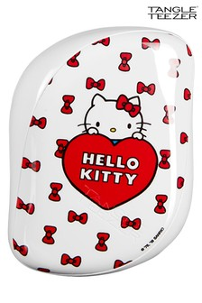 Tangle Teezer x Hello Kitty, Compact Styler Detangling Hairbrush - Dancing Bows