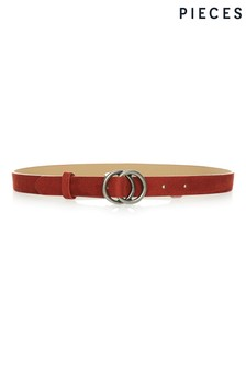 Pieces Double Ring Belt