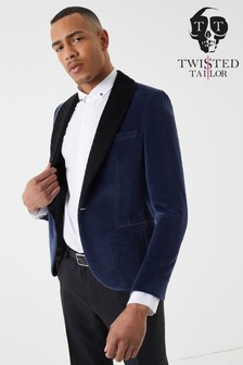 Twisted Tailor Infinity Velvet Blazer