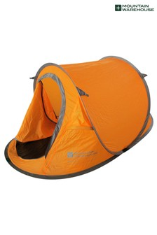 Mountain Warehouse Pop-Up Single Skin 2 Man Tent
