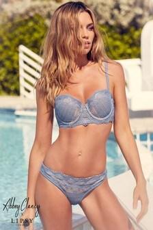 Abbey Clancy x Lipsy Crochet Bikini Top