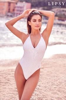 Lipsy Sequin Swimsuit