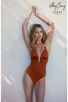 Abbey Clancy x Lipsy Hardwear Swimsuit