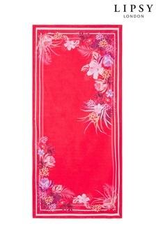 Lipsy Tiger Lily Beach Towel