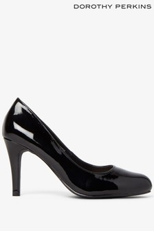 Dorothy Perkins Patent Dallas Court Shoes