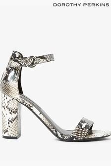 Dorothy Perkins Snake Block Heels