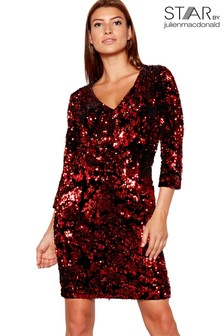 Star By Julien Macdonald All Over Sequin Dress