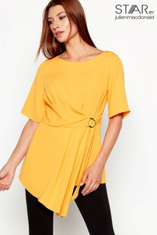 Star By Julien Macdonald Plain Asymmetric Top