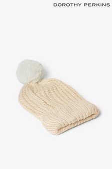 Dorothy Perkins Super Soft Pom Pom Hat