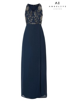 Angeleye Embroidered Maxi Dress