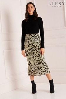 Lipsy Midi Slip Skirt