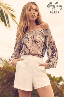 Abbey Clancy x Lipsy Tailored Shorts