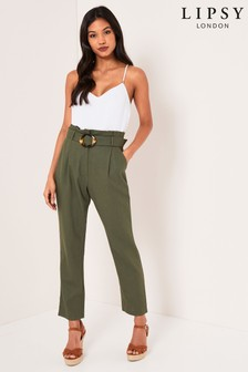 Lipsy Tapered Leg Trousers