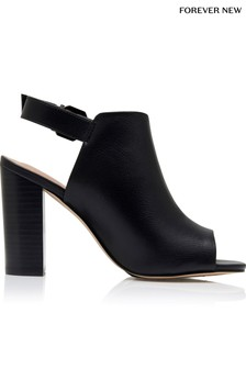 Forever New Peep Toe Boots