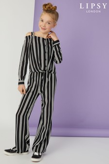 Lipsy Girl Stripe Co-Ord Set