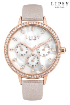 Lipsy Mink Strap Watch