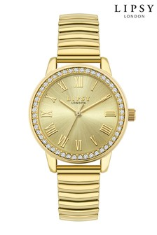 Lipsy Gold Bracelet Watch