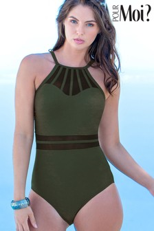 Pour Moi Beach bound High Neck Swimsuit
