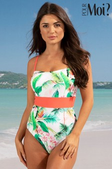 Pour Moi Tropics Control Swimsuit