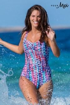 Pour Moi Ocean Bay Control Swimsuit