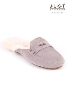Just Sheepskin Helena Moccasin Slipper