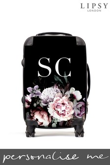 Personalised Lipsy Amber Floral Print Suitcase By Koko Blossom
