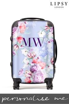 Personalised Lipsy Tori Floral Print  SuitCase By Koko Blossom
